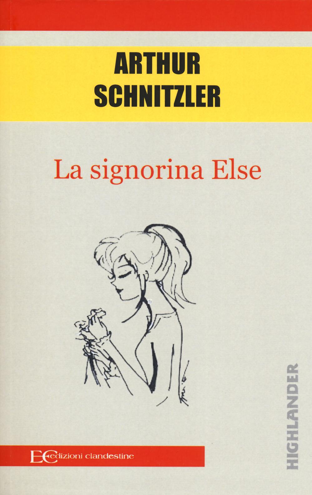 SIGNORINA ELSE (LA) - Schnitzler Arthur - 9788865968833