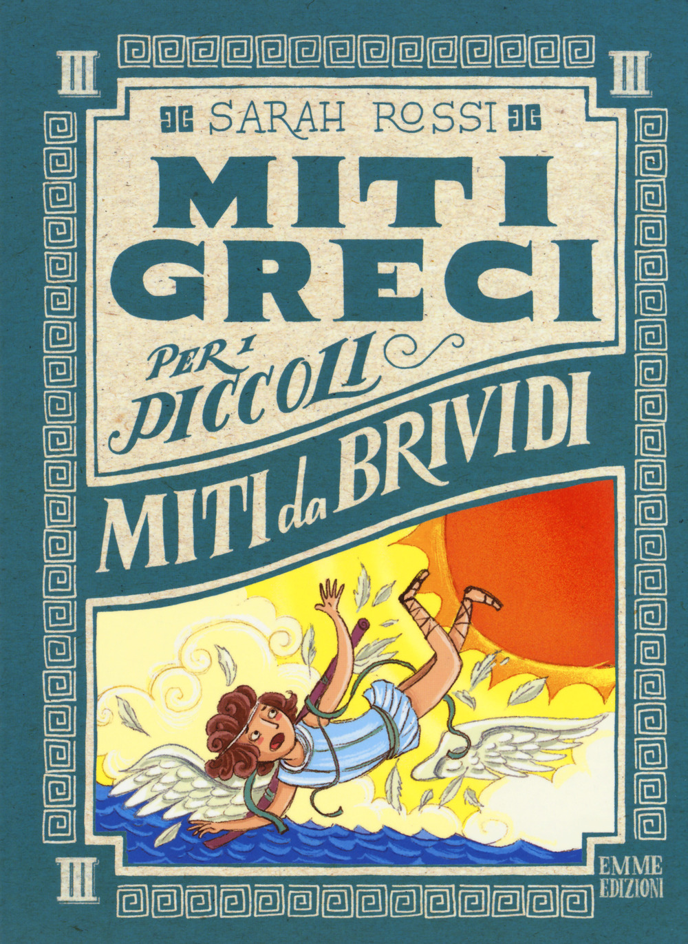 Miti da brividi. Miti greci per i piccoli. Ediz. a colori. Vol. 3
