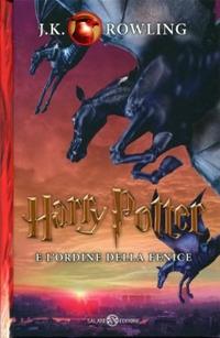 Copertina del Libro: Harry Potter e l'Ordine della Fenice