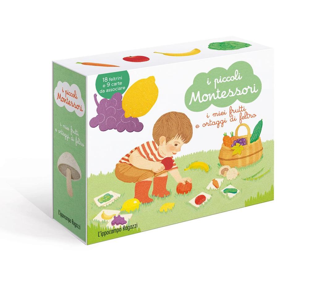 I miei frutti ortaggi di feltro. I piccoli Montessori. Ediz. illustrata. Con Prodotti vari