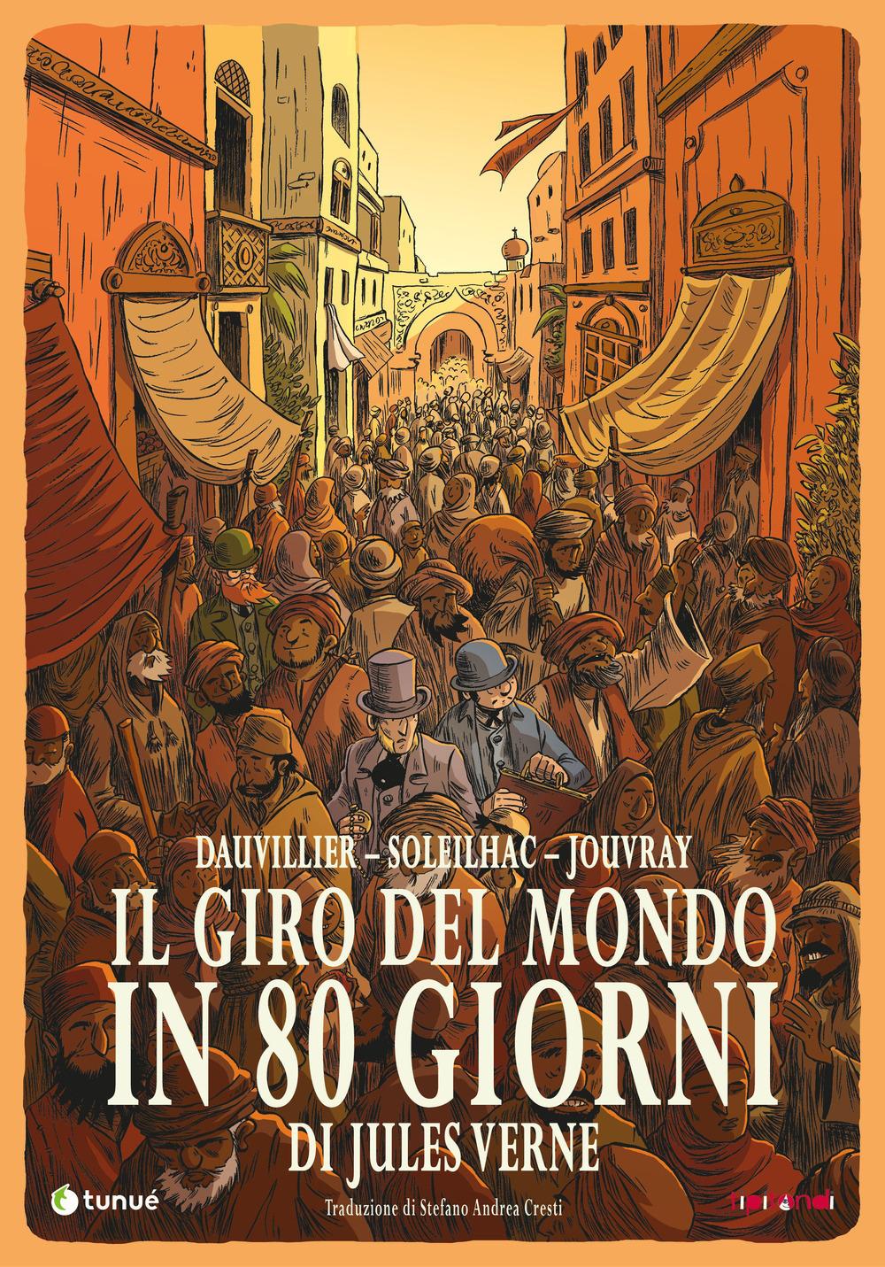 GIRO DEL MONDO IN 80 GIORNI (IL) - 9788867903573