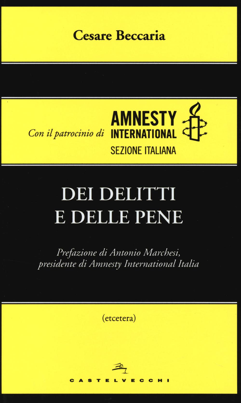 DEI DELITTI E DELLE PENE - 9788868263492
