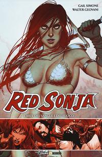 RED SONJA L'ARTE DEL SANGUE E DEL FUOCO di SIMONE G. - GEOVANI W.