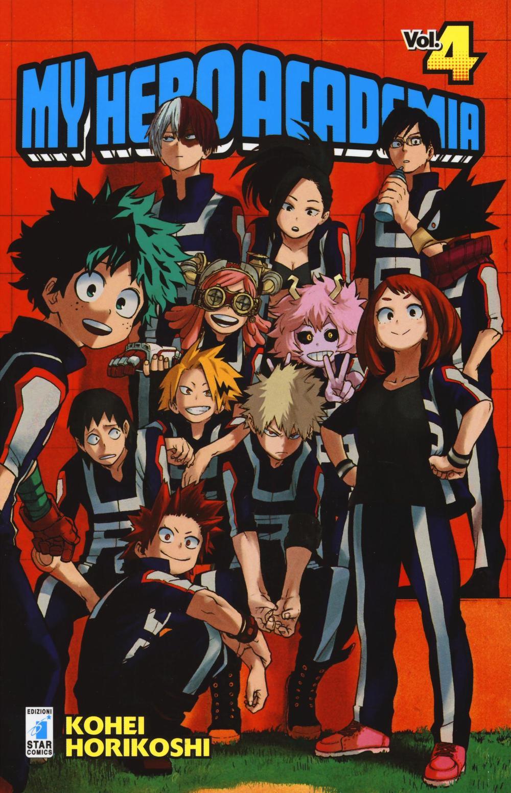 My Hero Academia. Vol. 4