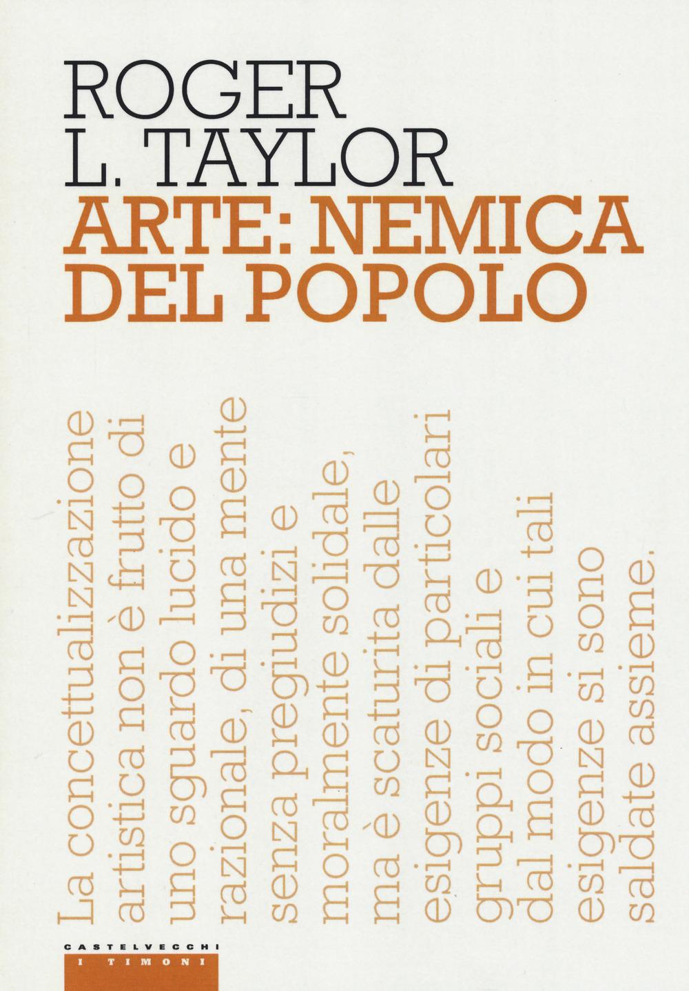 ARTE: NEMICA DEL POPOLO - 9788869447570