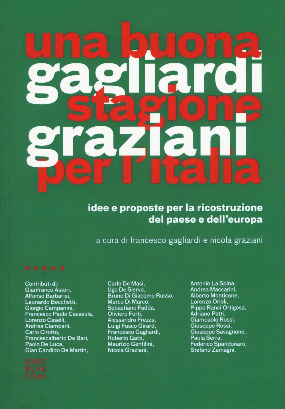 UNA BUONA STAGIONE PER L'ITALIA - 9788869448232