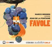 FAVOLE - AUDIOLIBRO CD MP3 di MESSERI M. - DE LA FONTAINE
