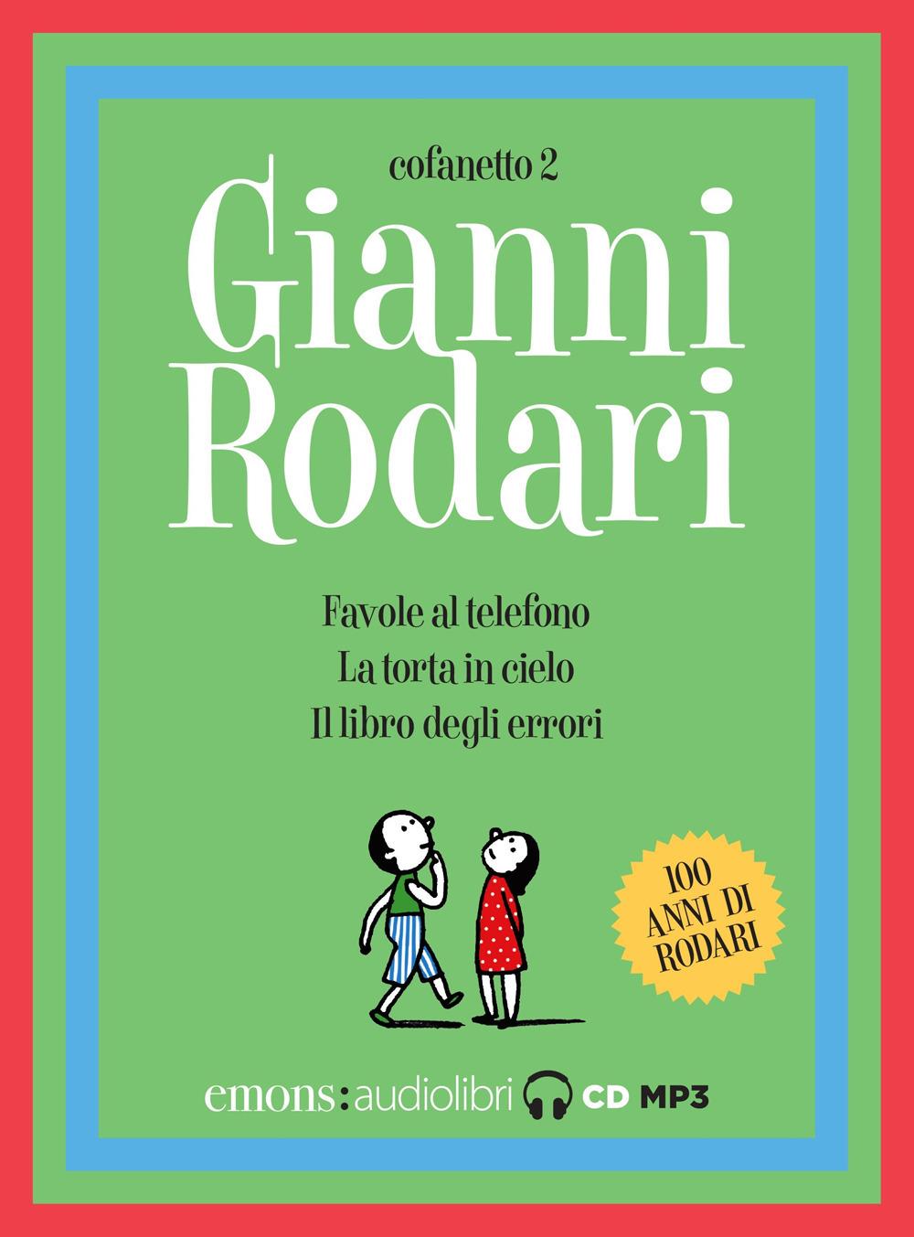 FAVOLE AL TELEFONO COFANETTO 2 - Rodari Gianni - 9788869865817