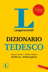 DIZIONARIO TEDESCO di LANGENSCHEIDT