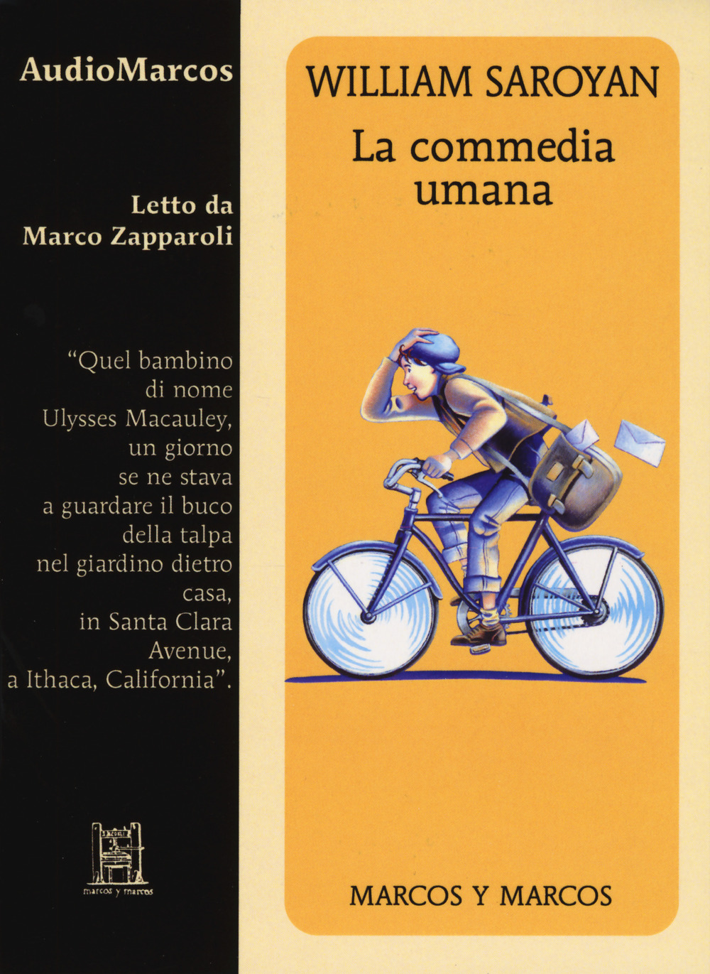 COMMEDIA UMANA LETTO DA MARCO ZAPPAROLI. AUDIOLIBRO. CD AUDIO FORMATO MP3 (LA) - 9788871688664