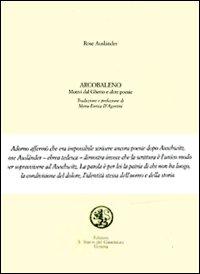 ARCOBALENO. MOTIVI DAL GHETTO E ALTRI. TESTO TEDESCO A FRONTE - 9788874940608