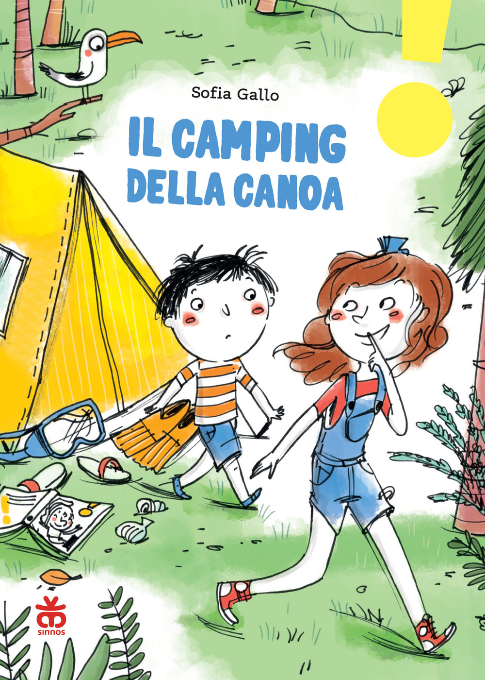 Il camping della canoa