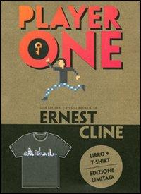Copertina del Libro: Player one. Con t-shirt donna L