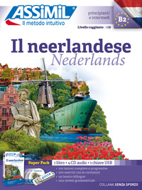 NEERLANDESE - NEDERLANDS - KIT ASSIMIL LIBRO + 4 CD + 1 CHIAVE USB