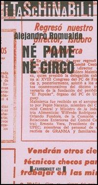 NÉ PANE NÉ CIRCO - 9788886095495