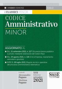 CODICE AMMINISTRATIVO 2021 MINOR