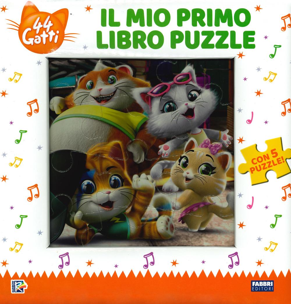 Il mio primo libro puzzle. 44 gatti. Ediz. a colori