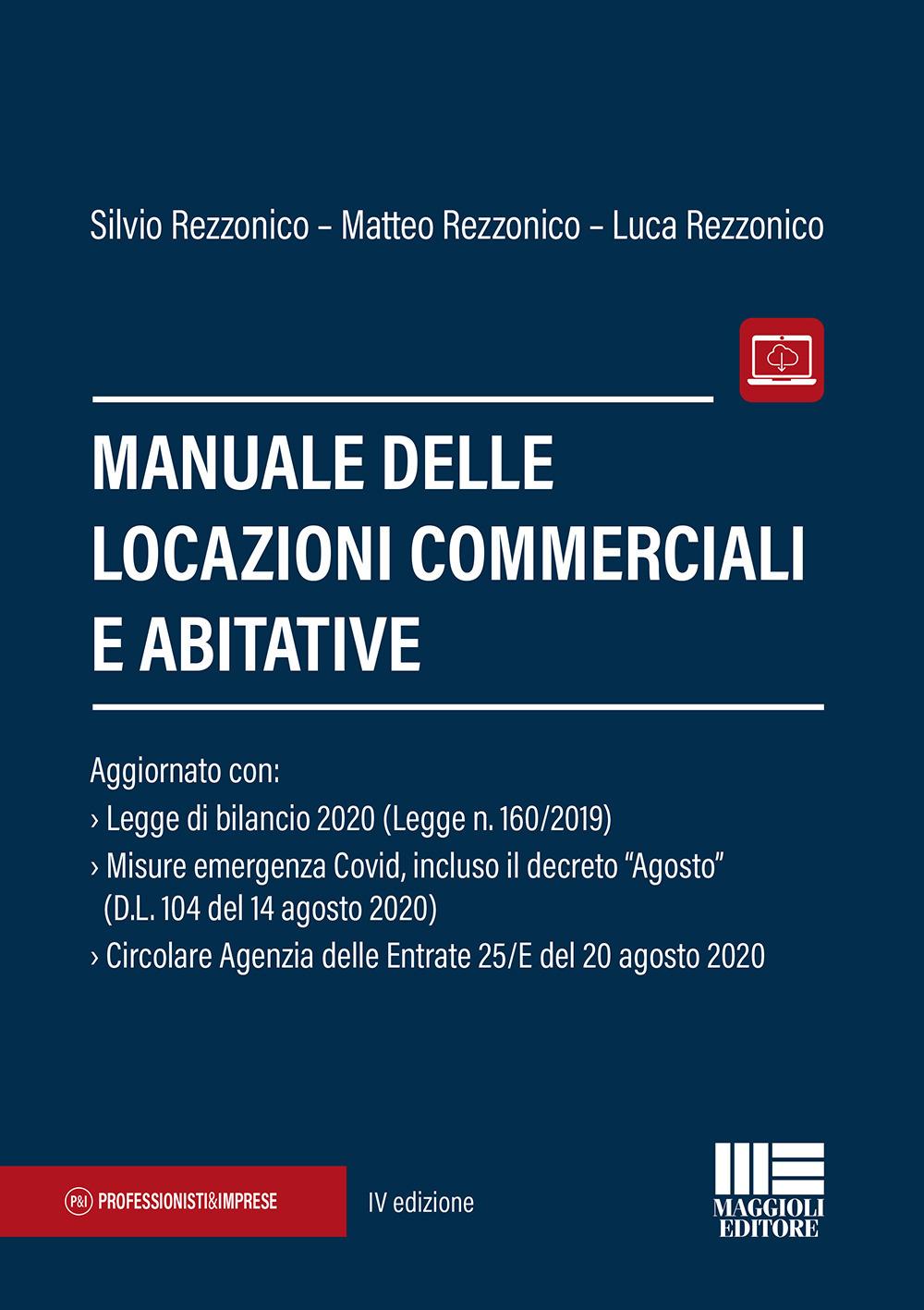 Manuale delle locazioni commerciali e abitative