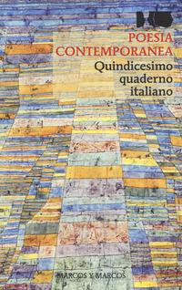 POESIA CONTEMPORANEA - QUINDICESIMO QUADERNO ITALIANO