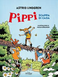 PIPPI SCAPPA DI CASA di LINDGREN ASTRID