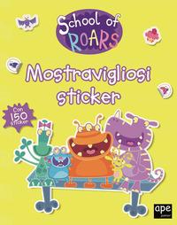 SCHOOL OF ROARS - MOSTRAVIGLIOSI STICKER