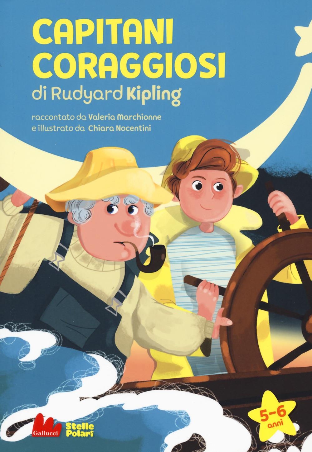 Capitani coraggiosi di Rudyard Kipling. Ediz. a caratteri grandi