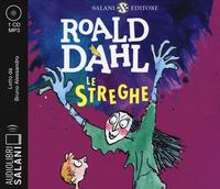 STREGHE - AUDIOLIBRO CD MP3 di DAHL ROALD