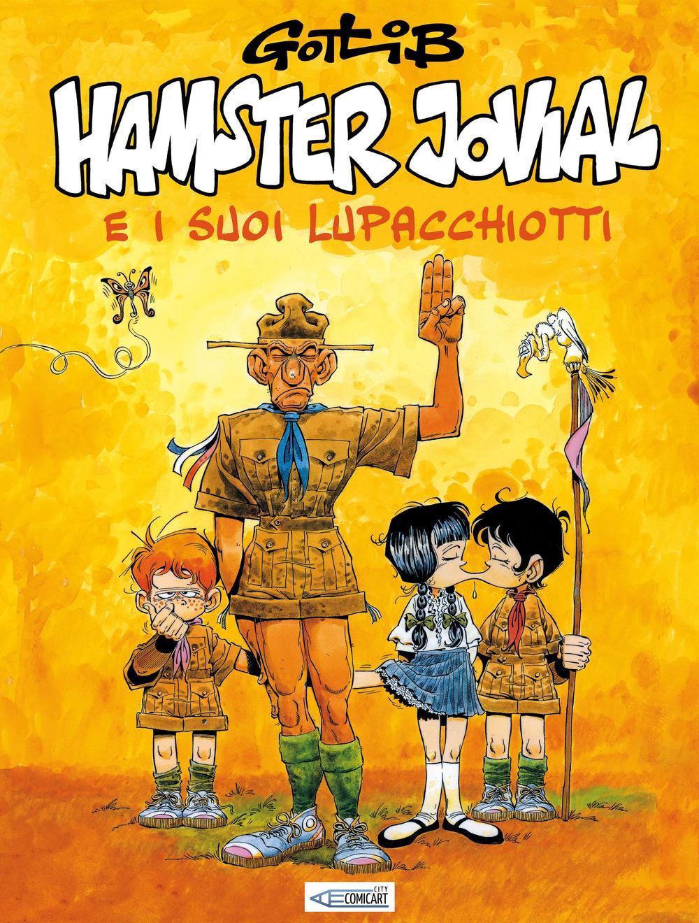 HAMSTER JOVIAL E I SUOI LUPACCHIOTTI - 9788894115161