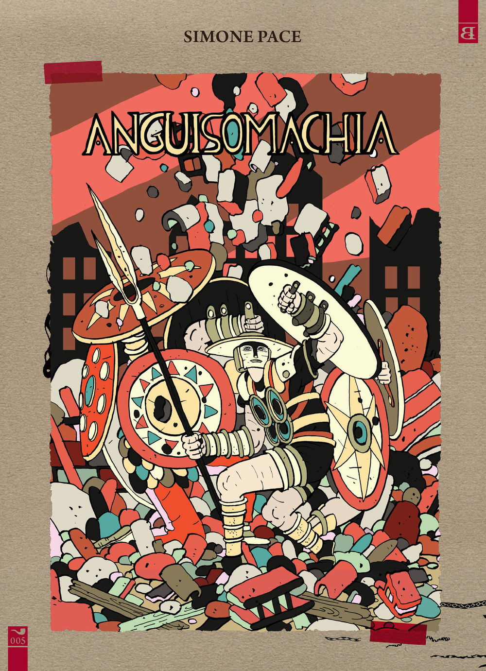 ANGUISOMACHIA - Pace Simone - 9788898462148