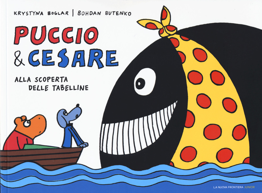 Puccio e Cesare alla scoperta delle tabelline