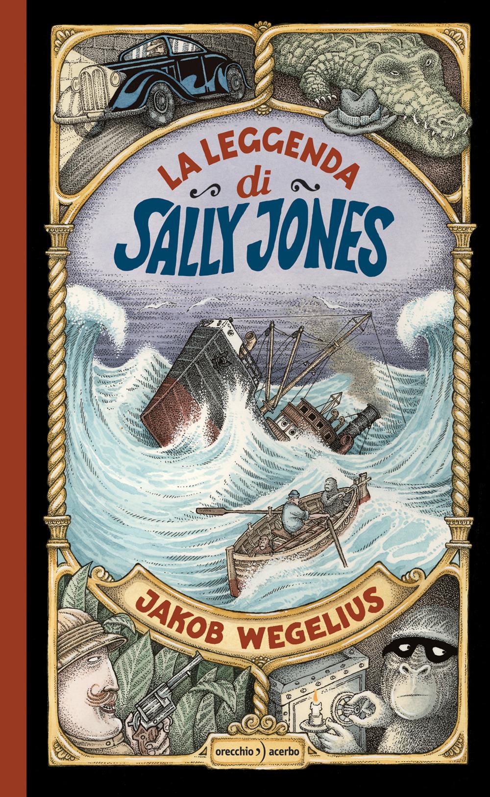 La leggenda di Sally Jones. Ediz. a colori